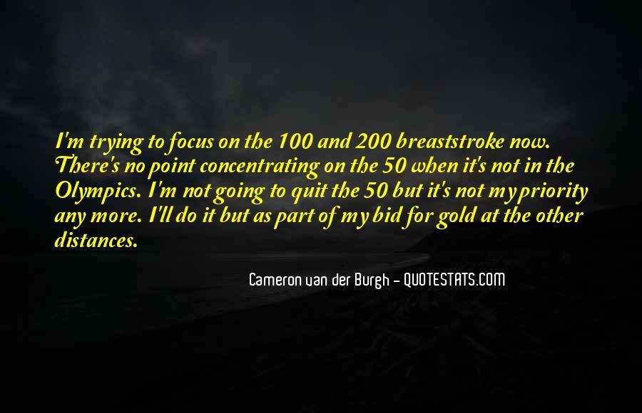 Cameron Van Der Burgh Quotes #920771