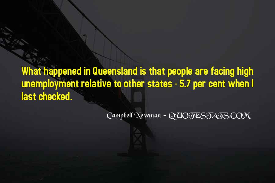 Campbell Newman Quotes #57152