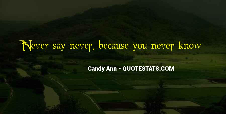 Candy Ann Quotes #1088654