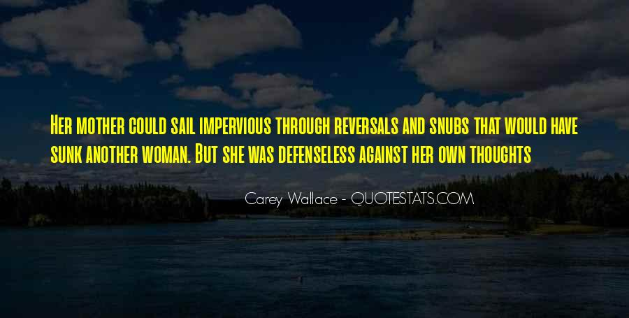 Carey Wallace Quotes #877265