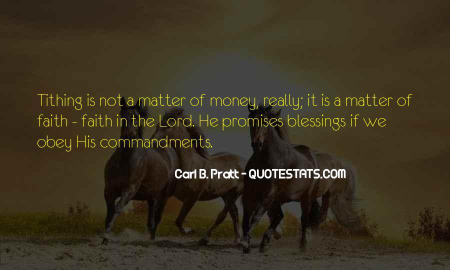Carl B. Pratt Quotes #1463794