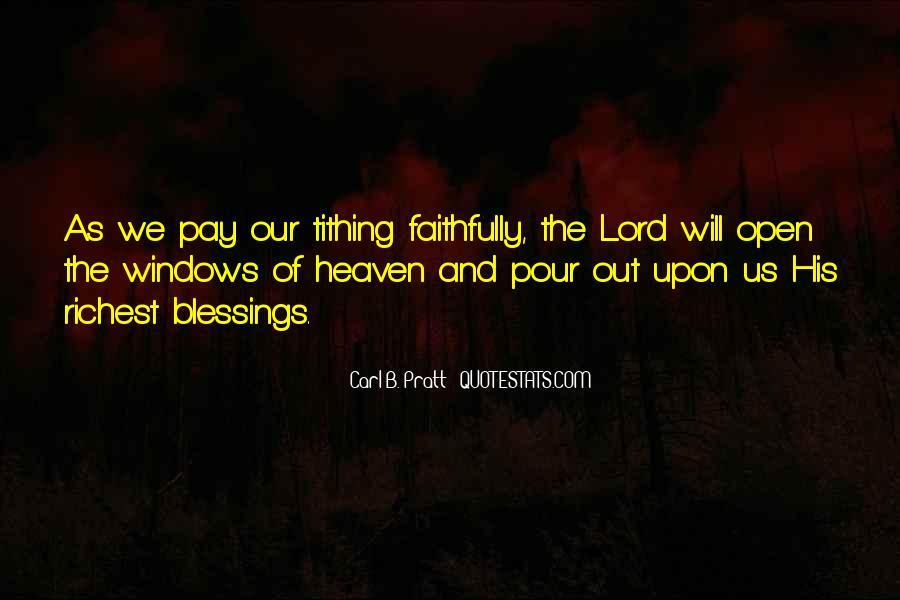 Carl B. Pratt Quotes #1769866