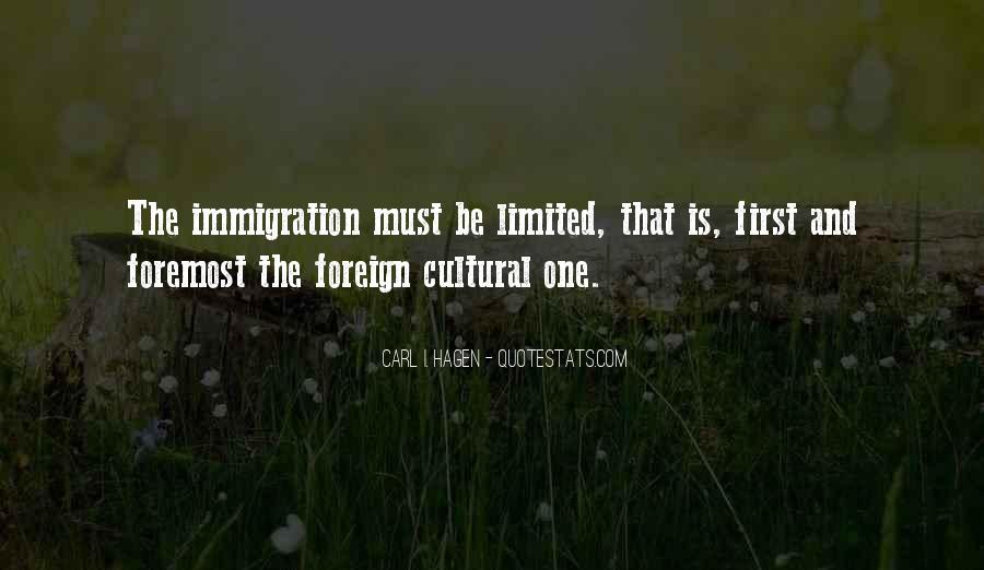 Carl I. Hagen Quotes #582035