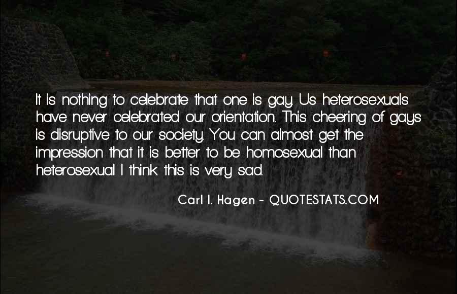 Carl I. Hagen Quotes #872085