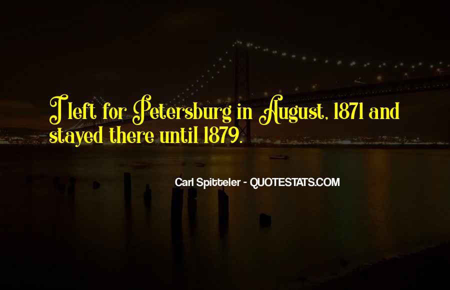Carl Spitteler Quotes #1449323