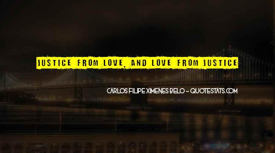 Carlos Filipe Ximenes Belo Quotes #1018022