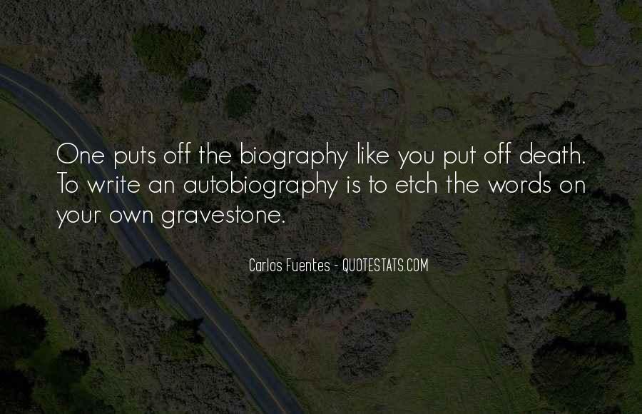 Carlos Fuentes Quotes #1002099