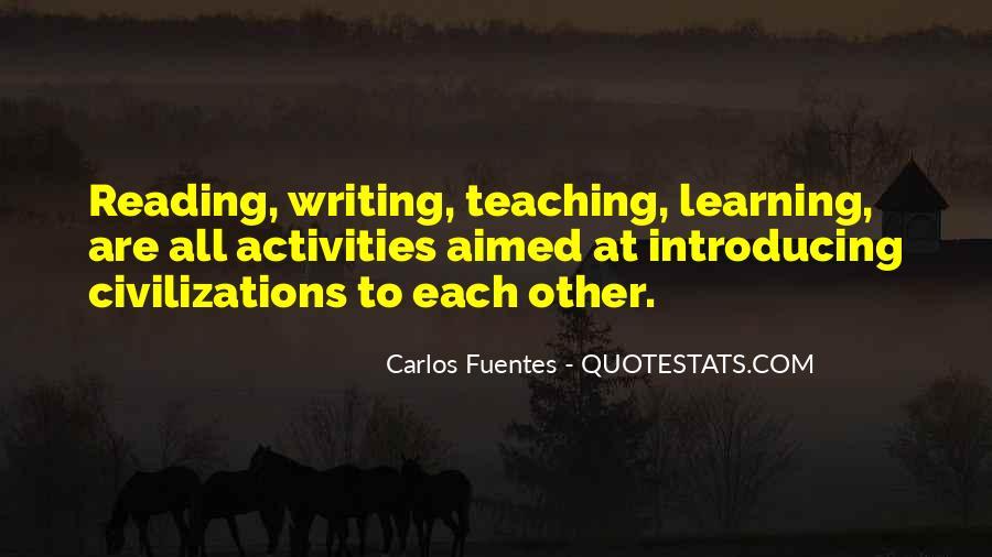 Carlos Fuentes Quotes #1392030