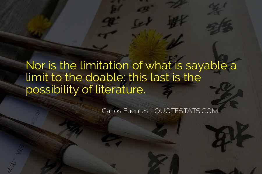 Carlos Fuentes Quotes #1585050