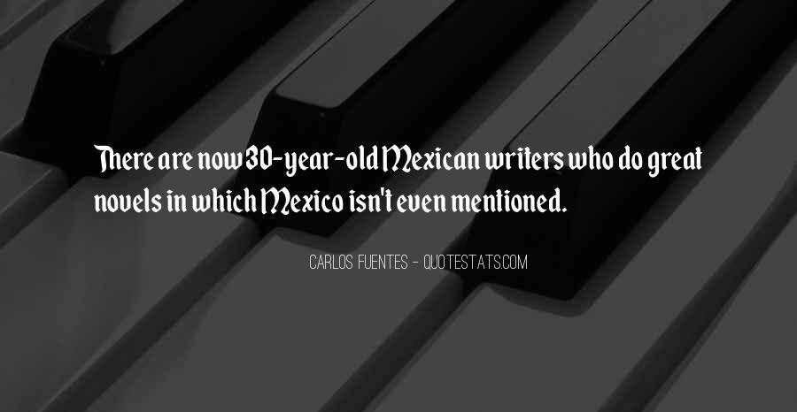 Carlos Fuentes Quotes #1742763