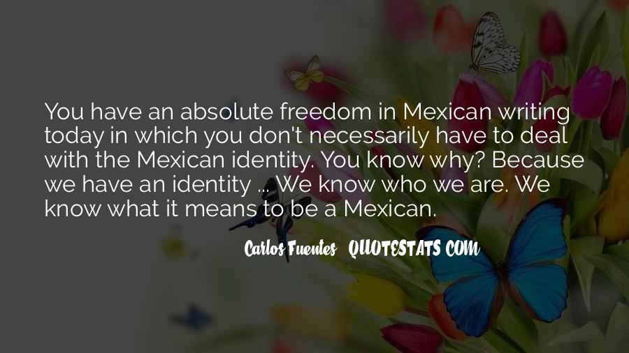 Carlos Fuentes Quotes #196147