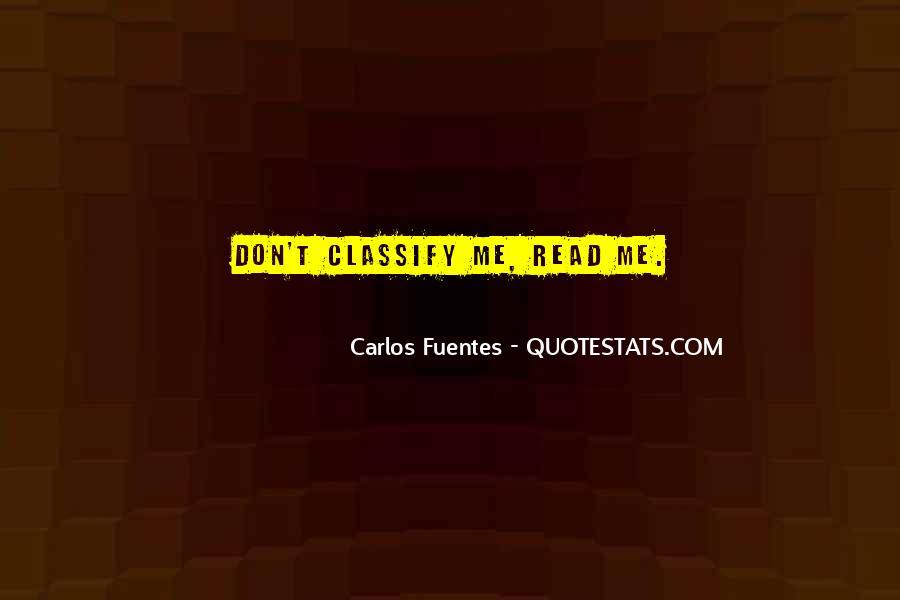 Carlos Fuentes Quotes #58480