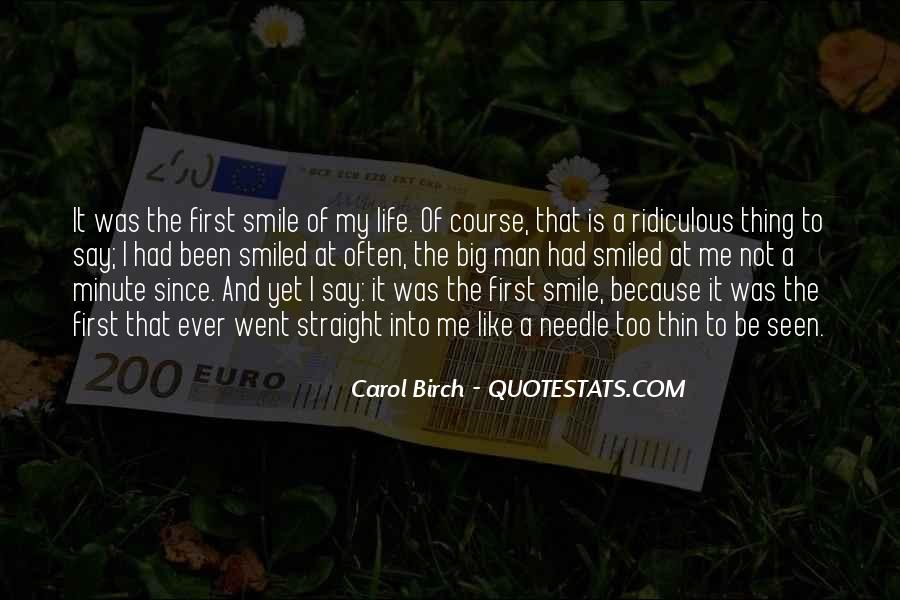 Carol Birch Quotes #459605