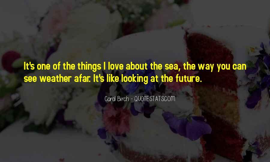 Carol Birch Quotes #76542