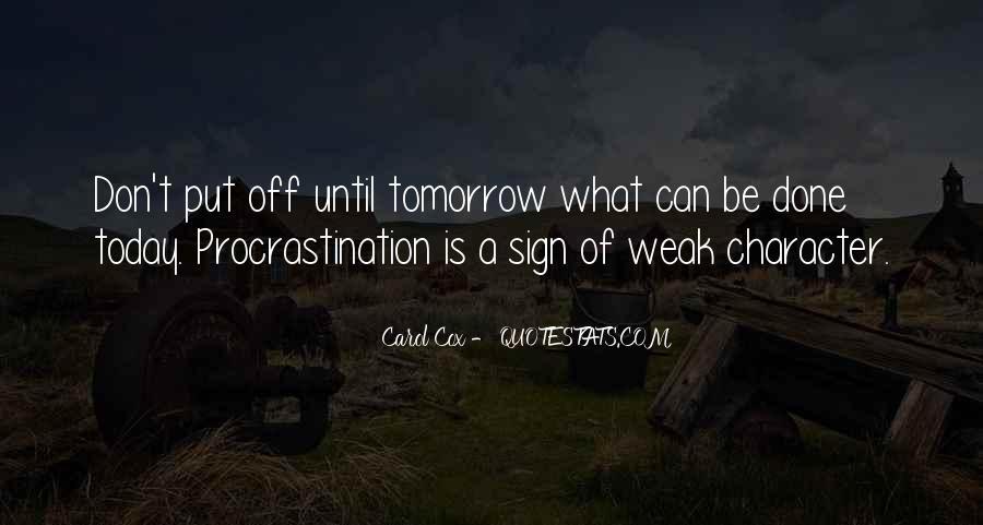 Carol Cox Quotes #1342113