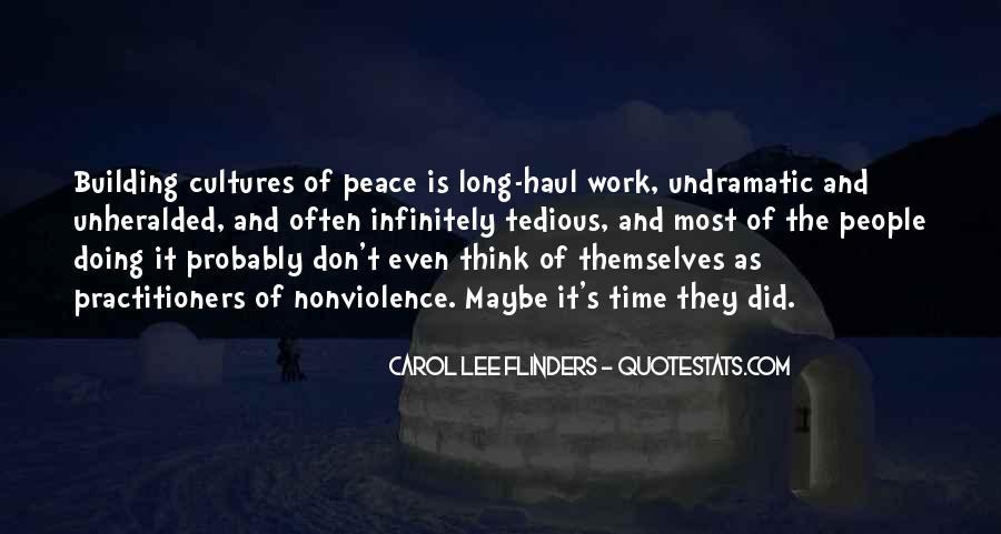 Carol Lee Flinders Quotes #669495