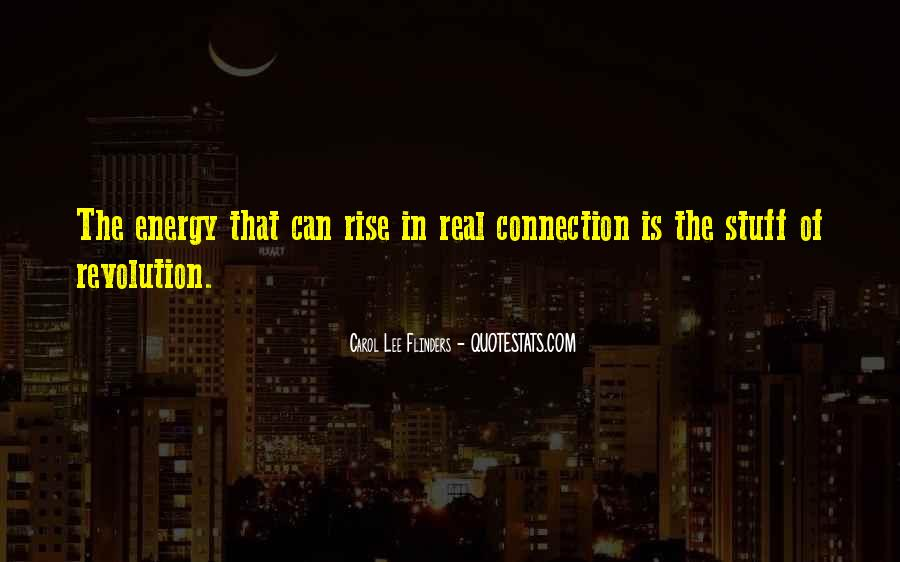 Carol Lee Flinders Quotes #815546