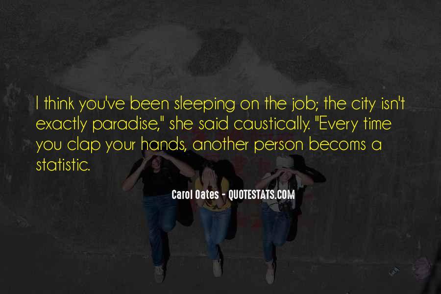 Carol Oates Quotes #118410