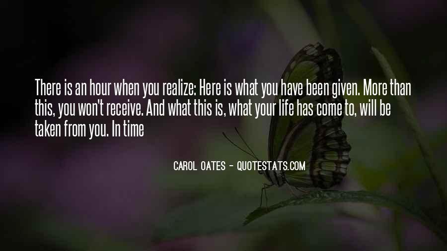 Carol Oates Quotes #915437