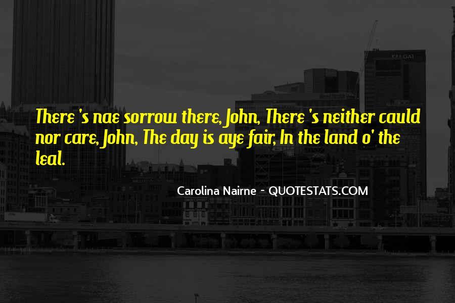Carolina Nairne Quotes #1052817