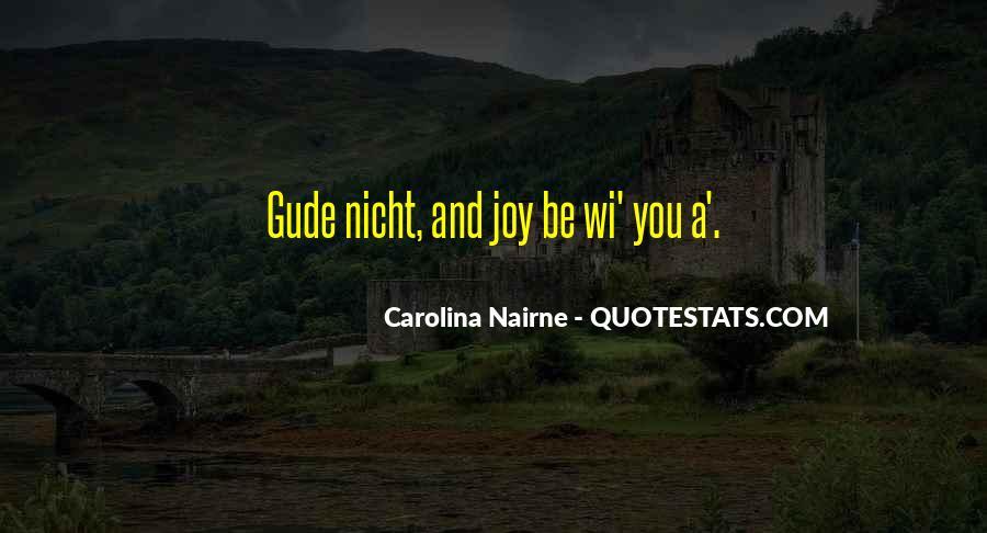 Carolina Nairne Quotes #805285