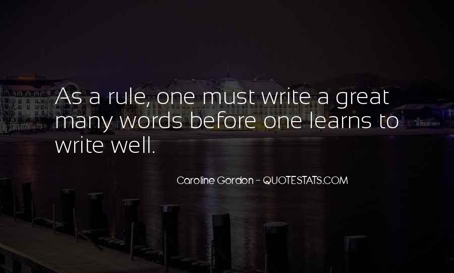 Caroline Gordon Quotes #1785987