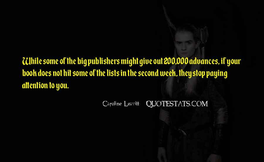 Caroline Leavitt Quotes #1100347