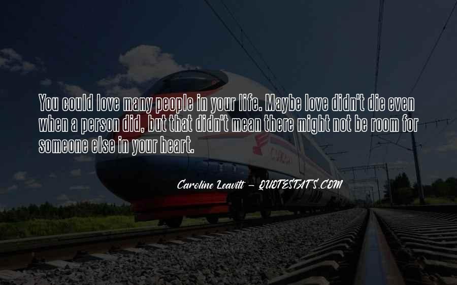 Caroline Leavitt Quotes #1193946