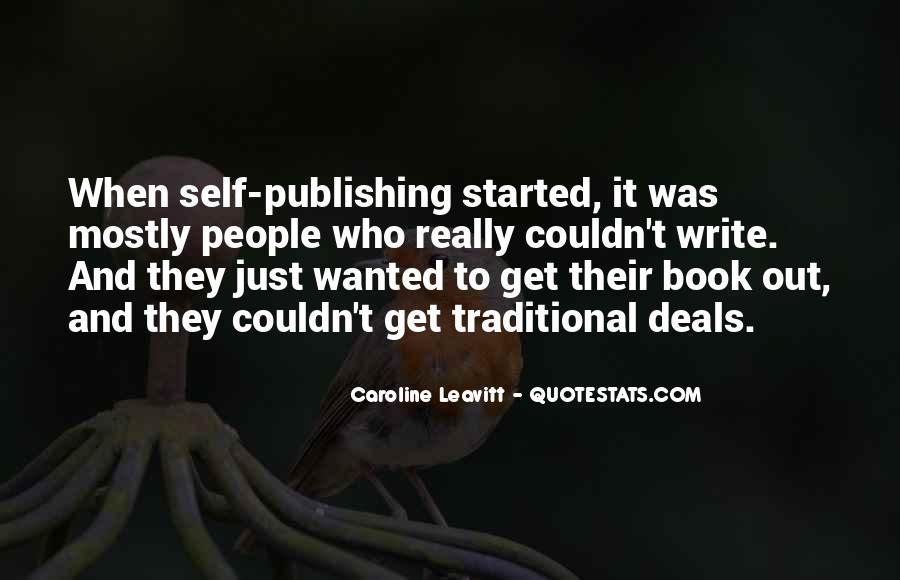 Caroline Leavitt Quotes #1303690