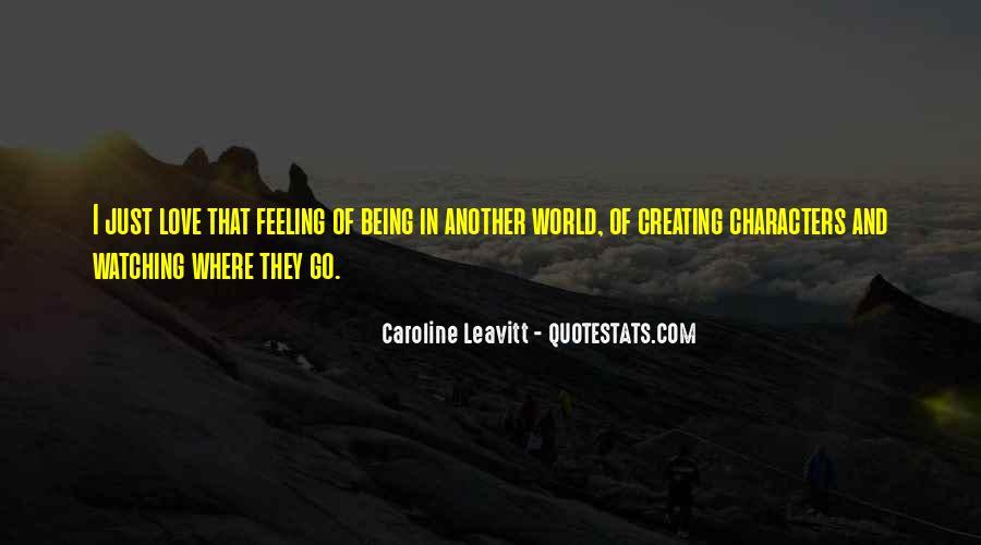 Caroline Leavitt Quotes #1559127