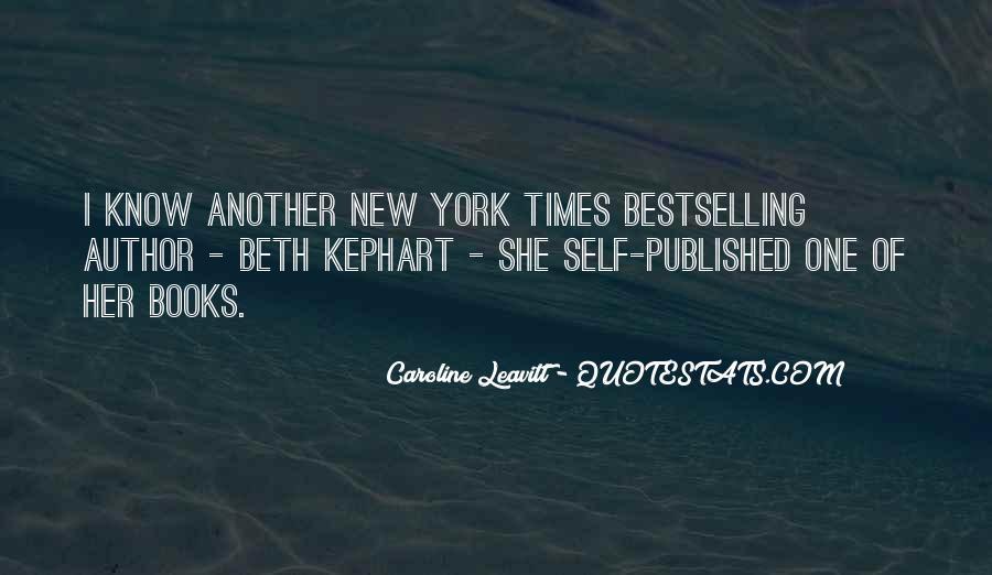 Caroline Leavitt Quotes #1607344