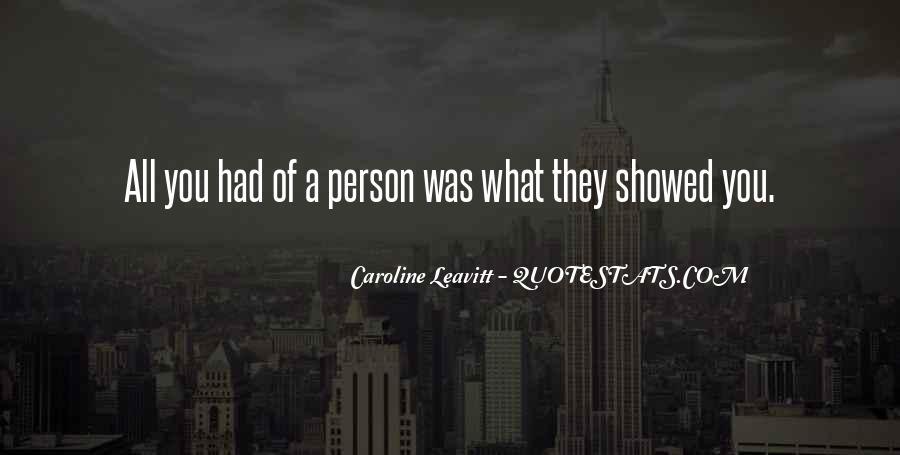 Caroline Leavitt Quotes #310236