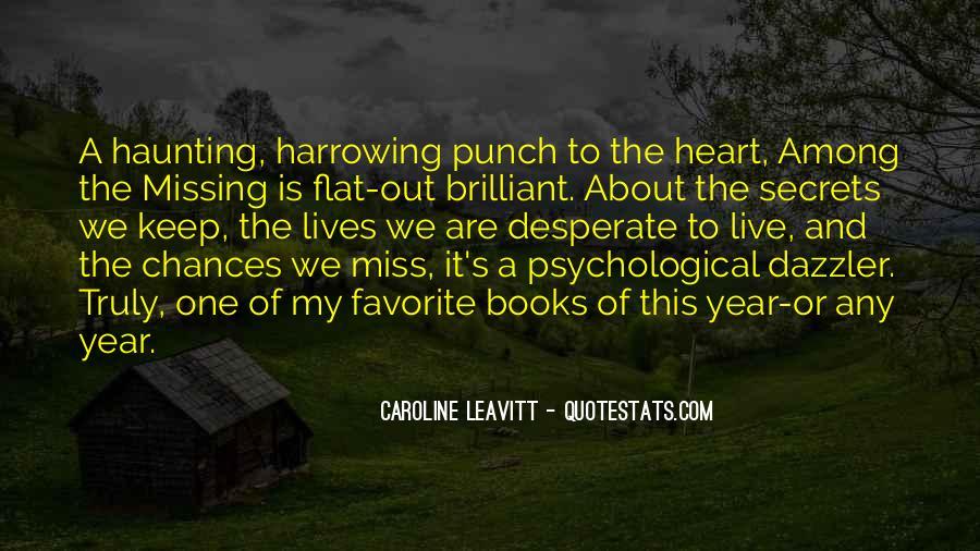 Caroline Leavitt Quotes #352827
