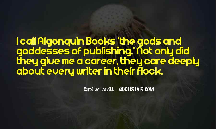 Caroline Leavitt Quotes #793043