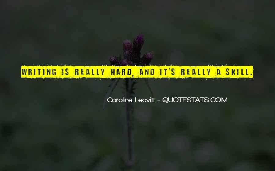 Caroline Leavitt Quotes #863425