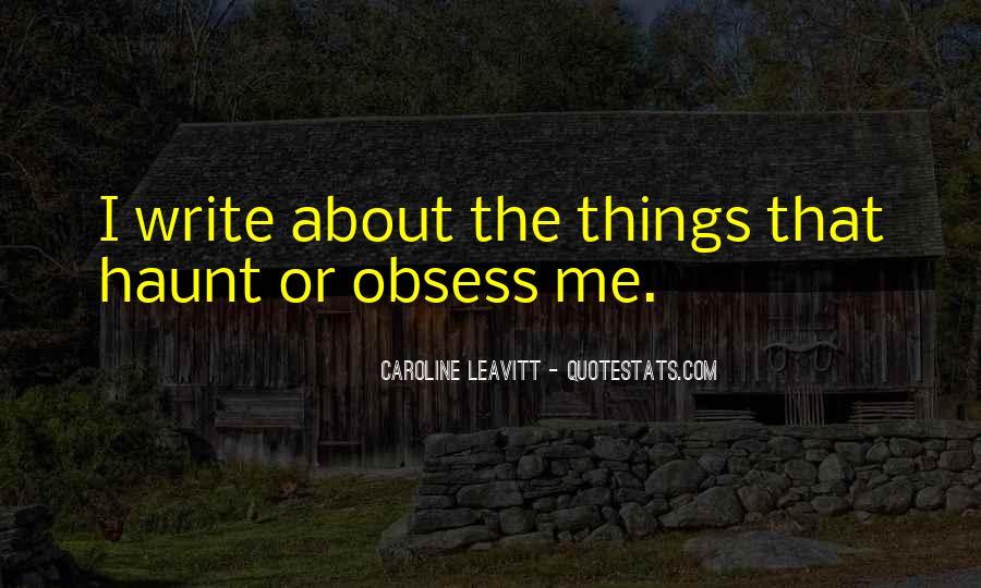 Caroline Leavitt Quotes #870025