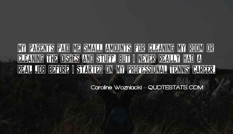 Caroline Wozniacki Quotes #1207741