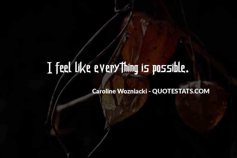 Caroline Wozniacki Quotes #1230335