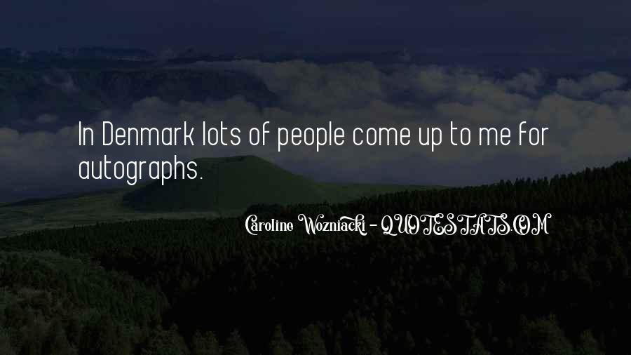 Caroline Wozniacki Quotes #1674339