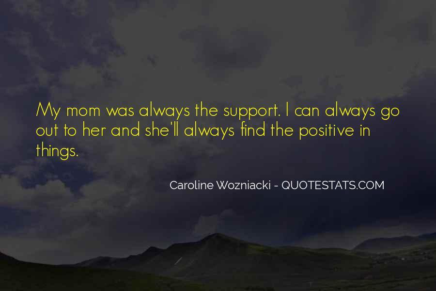 Caroline Wozniacki Quotes #1680884
