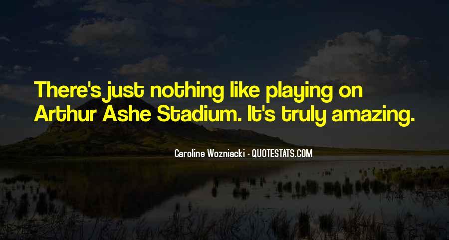 Caroline Wozniacki Quotes #1714142