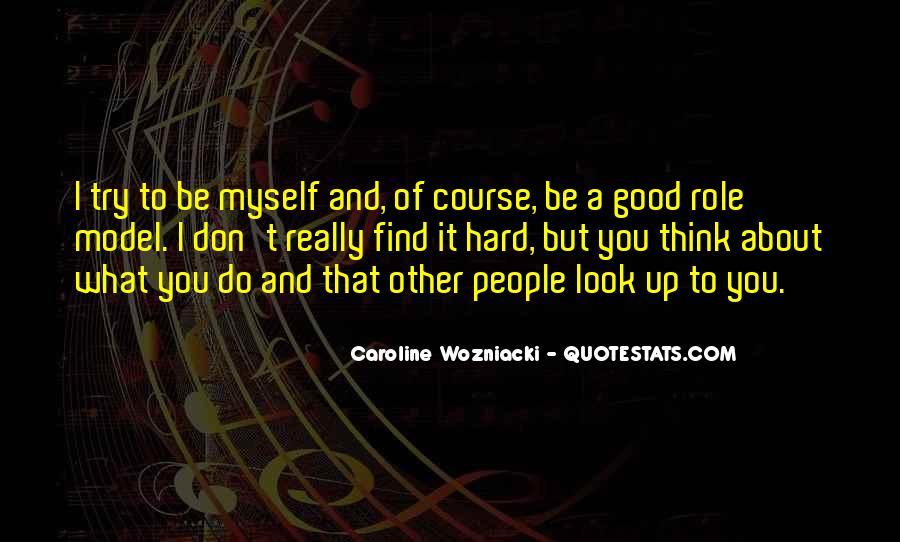 Caroline Wozniacki Quotes #507440