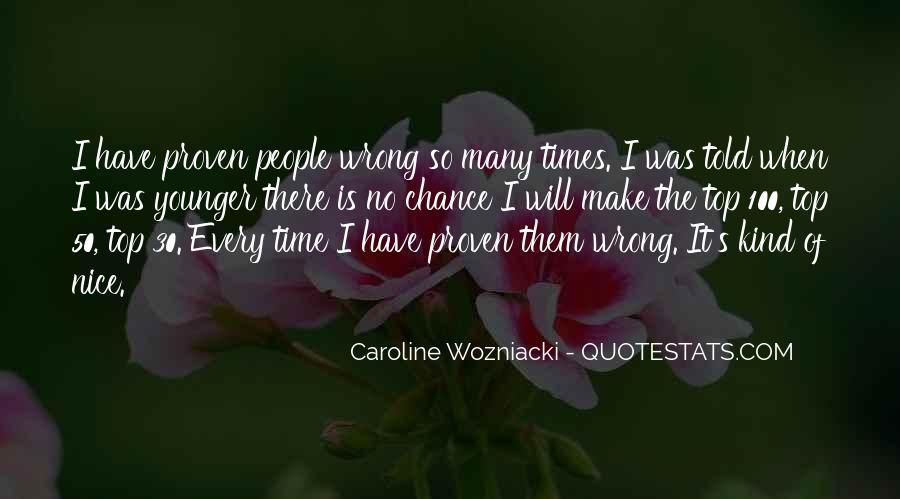 Caroline Wozniacki Quotes #511915