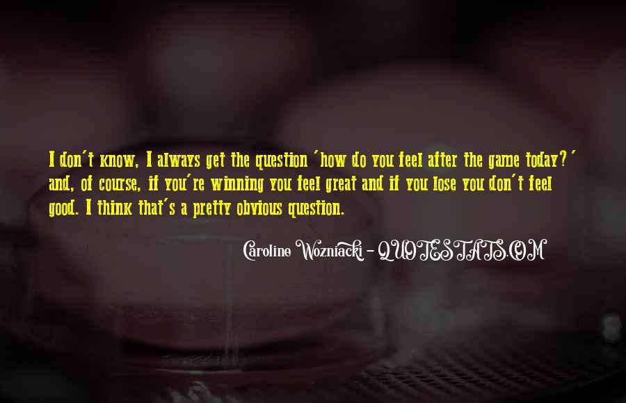 Caroline Wozniacki Quotes #759422