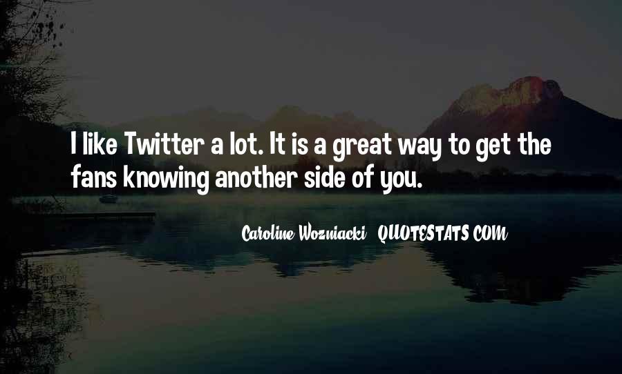 Caroline Wozniacki Quotes #972935