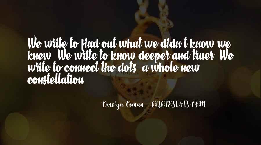 Carolyn Coman Quotes #106875