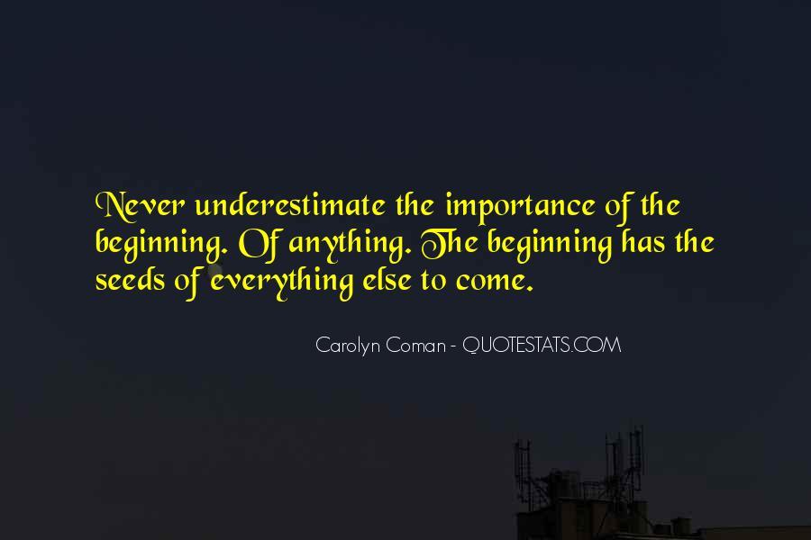 Carolyn Coman Quotes #1237106
