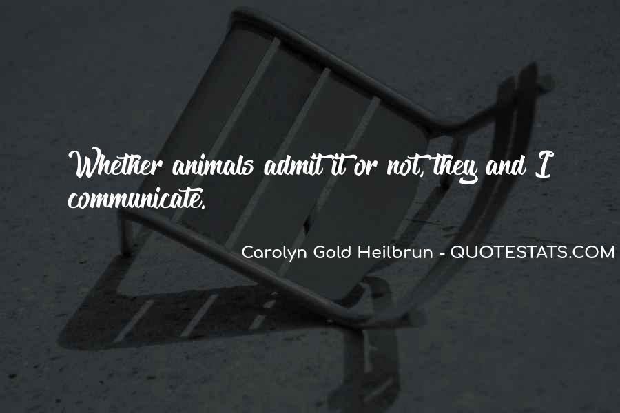 Carolyn Gold Heilbrun Quotes #1263810