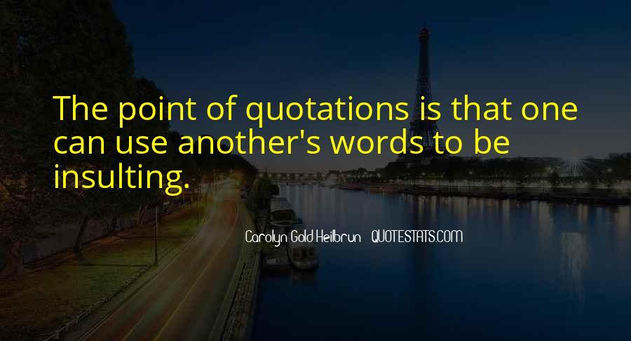 Carolyn Gold Heilbrun Quotes #1819613