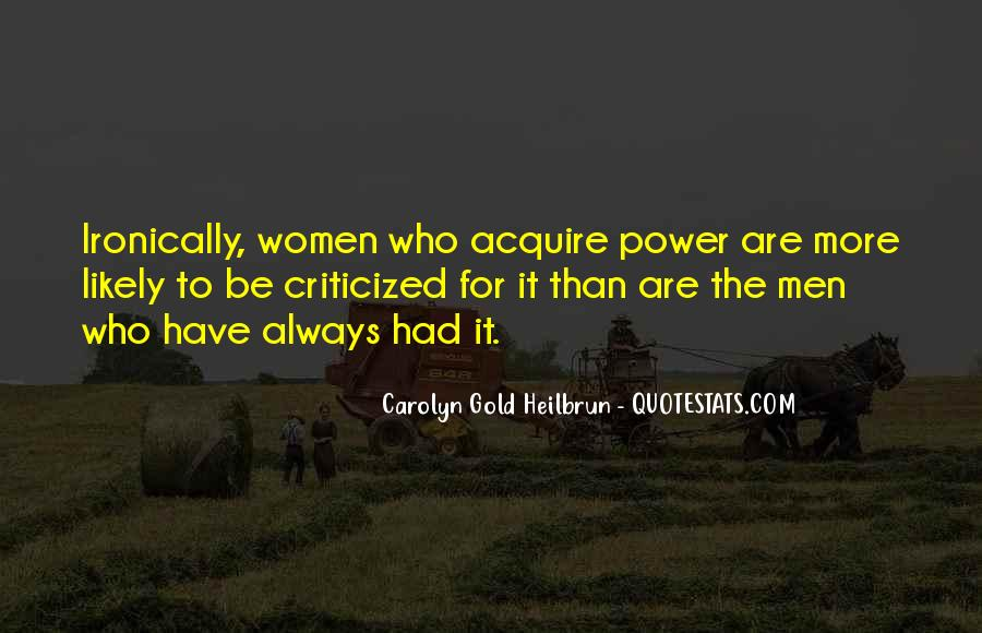 Carolyn Gold Heilbrun Quotes #308061